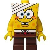 LEGO SpongeBob Schwammkopf: Minifigur SpongeBob mit Bandage (aus Bausatz 3832)