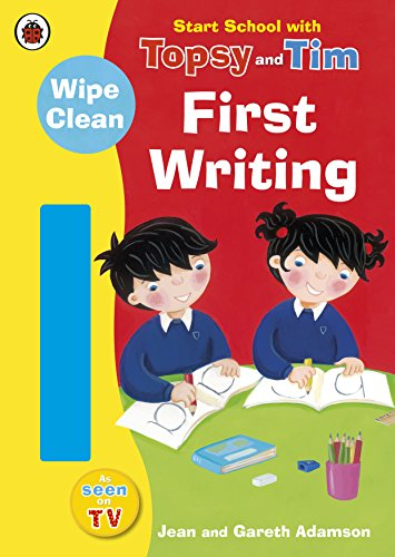 Start School with Topsy and Tim: Wipe Clean First Writing por Jean Adamson
