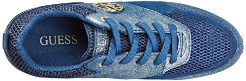 Guess Rimma, Scarpe da Tennis Donna Blu (Bleu/Blue)