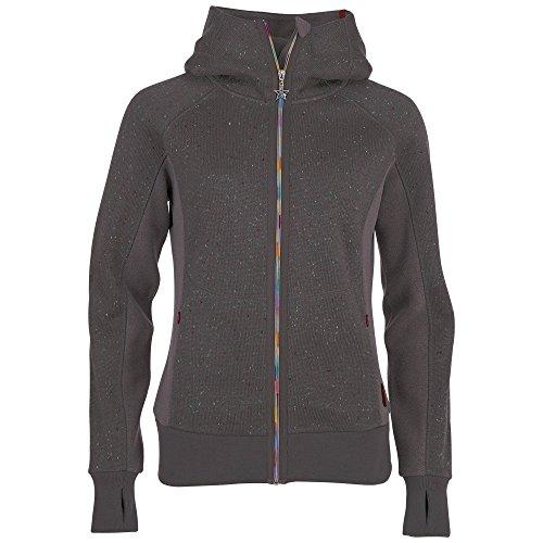 Chiemsee Damen Bernice Knit Fleecejacket, Magnet Melange, XL