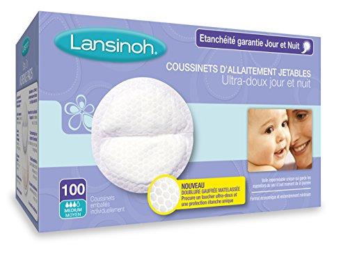 Lansinoh Coussinets d'Allaitement Jour&Nuit x100