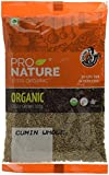 #1: Pro Nature 100% Organic Cumin, Whole, 250g
