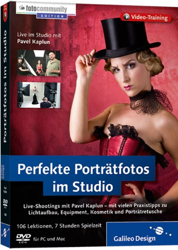 Perfekte Porträtfotos im Studio - Live-Shootings mit Pavel Kaplun