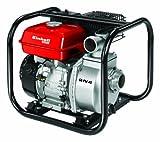 Einhell Benzin Wasserpumpe GE-PW 45 (4,8 kW, max. 23000 l/h, max. Förderhöhe 26 m, inkl. umfangreiches Adapter-Zubehör und Saugkorb)