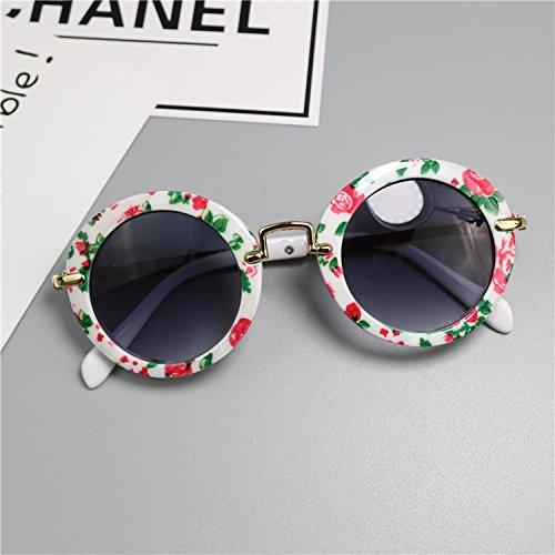 Baby-Sonnenbrille, UV-, Sonnenbrille, für Männer und Frauen, 1 bis 3 Jahre alt, Blütenfarbe