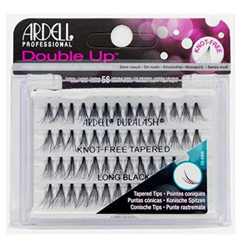 Ardell Professional - Double Up - Knot-free Tapered - Long Black