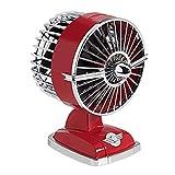 IKOHS Ventilatore da Tavolo Retro Line VT1511-IK USB 1.5W Rosso - (Scegli Un Colore) SKLUM