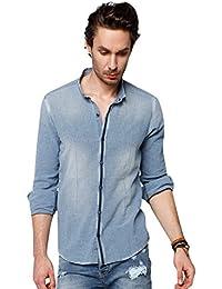 Chemise à carreaux manches longues M5015