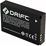 Drift Innovation 72-011-00 Batterie Rechargeable de 1700 mAh Compatible avec Caméra Action Drift Ghost    - Noir