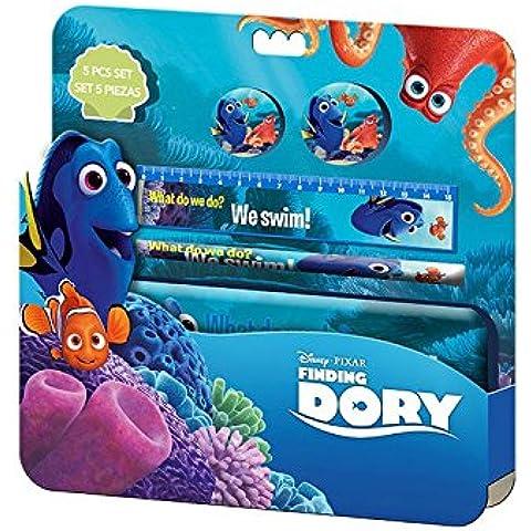 Kids Euroswan - Disney WD17206 Buscando a Dory - Blister Papelería con estuche clamshell 3D