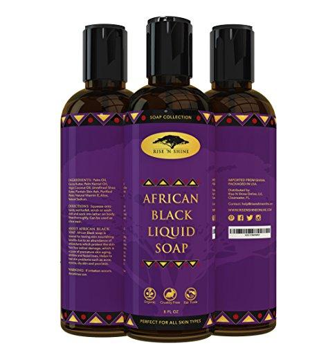 rise-n-shine-online-8-oz-sapone-liquido-nero-africano-con-olio-di-cocco-e-burro-di-karite-pulizia-de