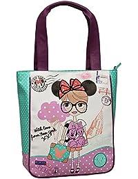 Disney Minnie Mail Bolso Bandolera, 12 Litros, Color Rosa