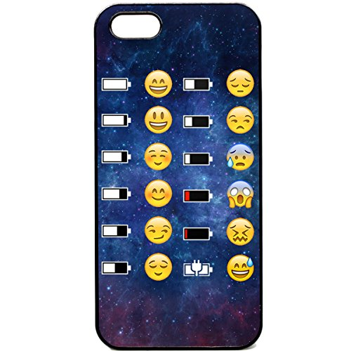 Coque Iphone 5C Coussin Visage Batterie Funny Espace Funky Smiley