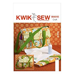 KWIK-SEW PATTERNS K4019 Diaper Bag Sewing Template, One Size