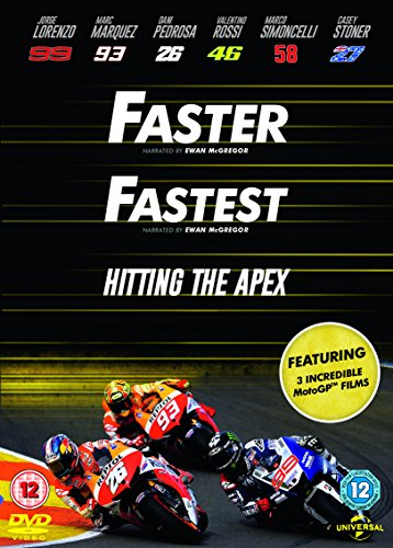 Preisvergleich Produktbild Faster / Fastest/ Hitting The Apex [DVD] [2015]