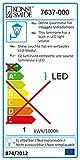 Assisi beleuchteter Pflanzentopf klein, LED / Kunststoff weiß - 2