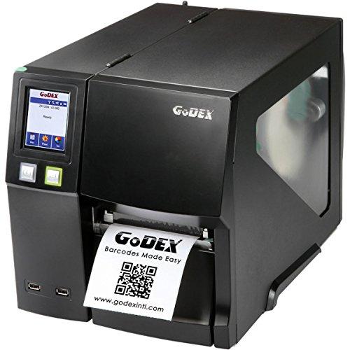 Thermodrucker Thermodirektdrucker Etikettendrucker Godex ZX1300i 300 dpi Modell mit Abreißkante mittig geführt LAN