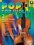 Pop for Violin: Tears in Heaven. Band 2. 1-2 Violinen. Ausgabe mit CD.