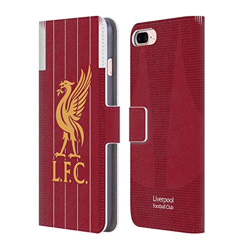Head Case Designs Offizielle Liverpool Football Club Home 2019/20 Kit PU Leder Brieftaschen Huelle kompatibel mit iPhone 7 Plus/iPhone 8 Plus
