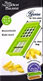 Neu Ersatzteile für Genius Nicer Dicer- Kompakt und Smart (10x30mm + 15x15mm, grün)