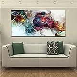 gaowei Poster Moderni e Stampe Wall Art Canvas Pittura su Tela Home Decor Acquerello Immagini astratte per Soggiorno Parete 20x40cm