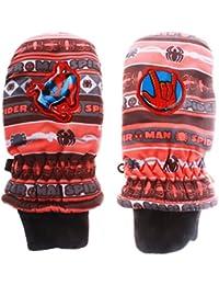 –Manoplas de esquí para niño Spider-Man 3colores de 2a 5años