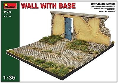 MiniArt 36035 - Mauer mit Grundplatte von MiniArt