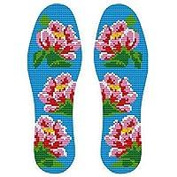 Im chinesischen Stil handgestickt Einlegesohlen Schweiß absorbierende Einlegesohlen, Blume preisvergleich bei billige-tabletten.eu