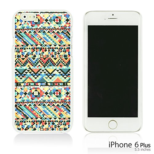 OBiDi - Geometrical Pattern Hardback Case / Housse pour Apple iPhone 6 Plus / 6S Plus (5.5)Smartphone - Funny Tribal Print Funny Tribal Print