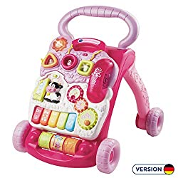 VTech Baby 80-077054 - Game and Carriage, plain, pink