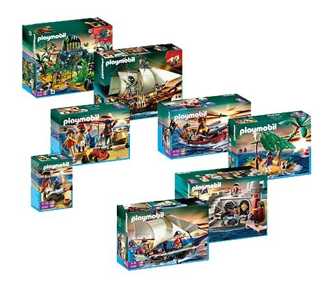 PLAYMOBIL® 5134, 5135, 5136, 5137, 5138, 5139, 5140, 5141 - Piraten Super Set