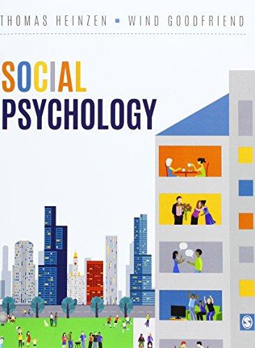 Social Psychology por Thomas E. Heinzen