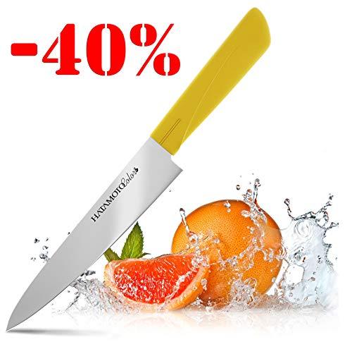 Coltello giapponese – coltello da cucina – coltello affilato per cucinare – coltelli giapponesi per i cuochi – coltelli da chef con la lama da rasoio – acciaio inossidabile di alta qualità chef 15 cm