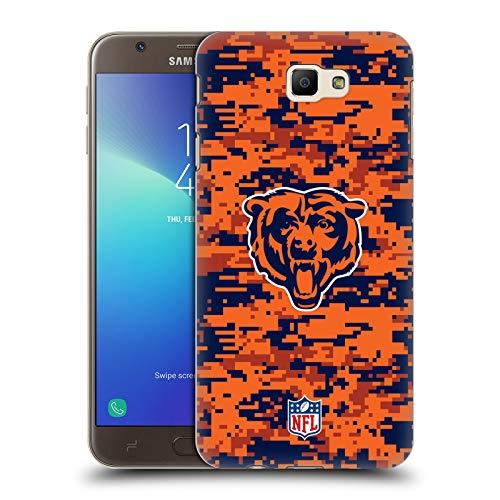 Head Case Designs Offizielle NFL Digitales Camouflage 2018/19 Chicago Bears Ruckseite Hülle für Samsung Galaxy J7 Prime 2 2018