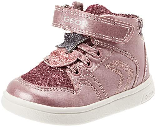 Geox Baby Mädchen B DJROCK Girl A Sneaker, (Dk Pink C8006), 23 EU