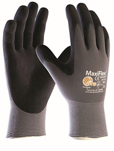 3er Pack MaxiFlex Ultimate Arbeitshandschuhe, Montagehandschuhe (alle Größen), Größe:9 (L) -