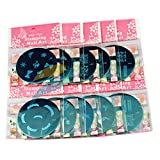 10pcs nail art timbro che timbra il piatto Set Strumenti Stamper Design Strumenti Kit manicure mescolare i disegni