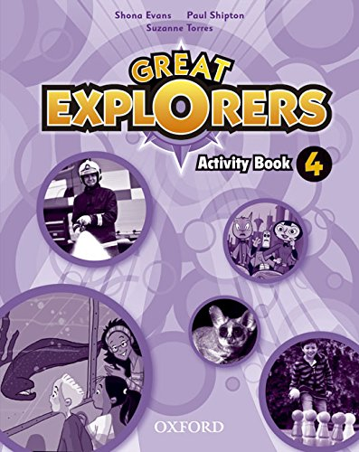 (14).GREAT EXPLORERS 4º.PRIM.(ACTIVITY BOOK)