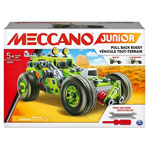 Meccano - 6055102 - Jeu de Constuction - Nouveau Baril 150 pièces Meccano Junior
