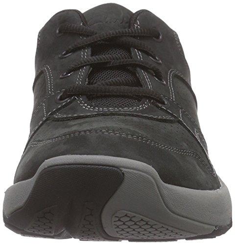 ClarksWave Launch - Sneakers Uomo Nero (Black Nubuck)
