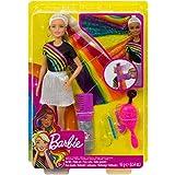 Barbie Gökkuşağı Renkli Saçlar Bebeği (FXN96)