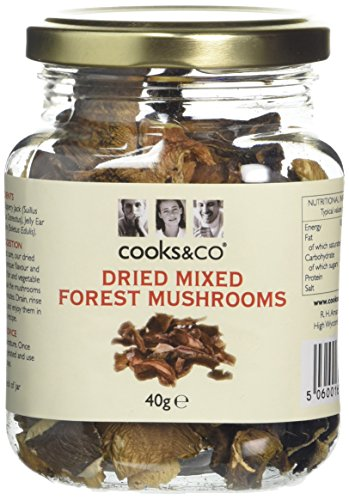 Cooks&co Dried Mixed Forestiere Mushrooms 40 g (Pack of 6)