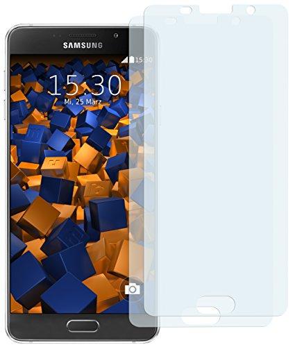 mumbi Schutzfolie kompatibel mit Samsung Galaxy A5 2016 Folie klar, Bildschirmschutzfolie (2x)