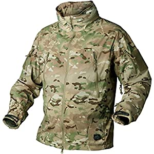 Helikon Trooper Soft Shell Veste Camogrom