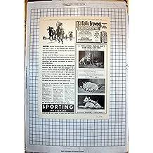 Stampa D'annata del Regalo di Natale dei Ritratti del Cane della Bottiglia di Chlorodyne degli Annunci che Corre 1935