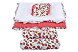 Baby Grow Toddler Mattress Basics Bedding Set Strawberry - Best Reviews Guide