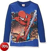 Marvel 15605forwardslash10AZ, T-Shirt Bambino, Blu (Bluette), 128 (Taglia Produttore:8)