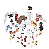 Miniatur Ornament Mini-Szene Fee-Verzierung, 56 Stück