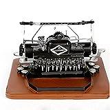 Simulation Alte Schreibmaschine Modell Schneideplotter-Verzierungen Retro Industrie Netto Kaffee Dekoration Studio Requisiten Geschenk (Nicht Funktioniert) 30cm*26cm*14cm/11.81