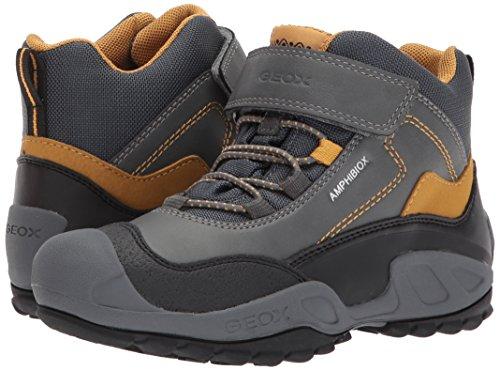 concepto pegamento Regularidad  Geox J New Savage B ABX A, Boys' Hi-Top Trainers, Grey (Grey/Dk Yellow), 11  UK (29 EU)- Buy Online in India at desertcart.in. ProductId : 62139969.